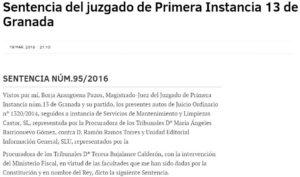 Limpiezas Castor. Publicacion_El_Mundo_Sentencia_Digital-e1523007820244-300x177 Sentencia del Juzgado de Primera Instancia 13 de Granada