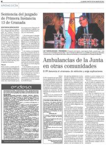 Limpiezas Castor. Publicacion-El-Mundo-sentencia-216x300 Sentencia del Juzgado de Primera Instancia 13 de Granada