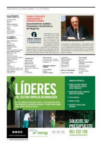 """Limpiezas Castor. castor-diario-sur-01-212x300 Diario Sur - """"Quién es Quién Empresas"""""""