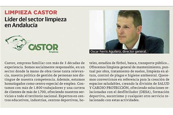 Limpiezas Castor. diario-sur-castor-quien-es-quien-empresas Empresa de Limpieza Granada. Limpiezas Castor