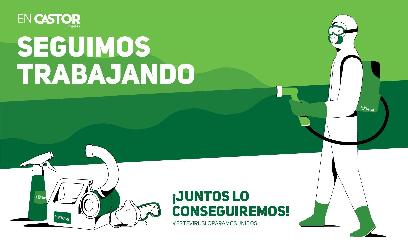 Limpiezas Castor. Mailing-RRSS-06 Empresa de Limpieza Granada. Limpiezas Castor