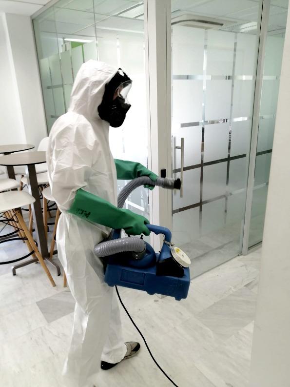 Limpiezas Castor. desinfeccion-con-ozono-coronavirus-granada Desinfección ozono Granada