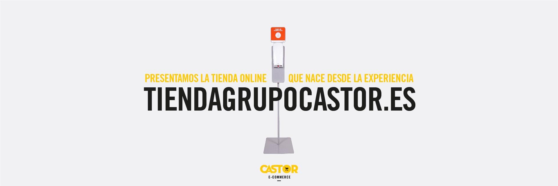 Limpiezas Castor. Banner-Tienda-Online-Castor Empresa de Limpieza Granada. Limpiezas Castor