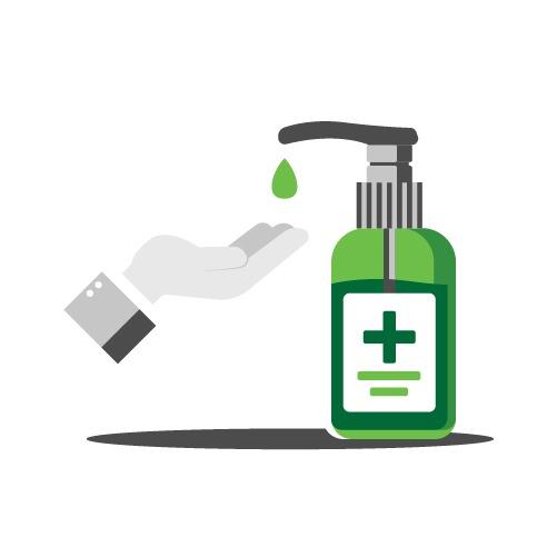 Limpiezas Castor. Castor-Gel-Hidroalcoholico-almeria Desinfección ozono Almería